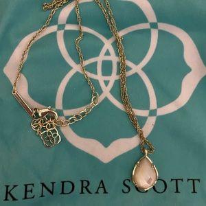 Ivory Kendra Scott Pendant necklace